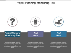 Project Planning Monitoring Tool Ppt PowerPoint Presentation Summary Show