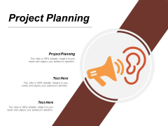 Project Planning Ppt PowerPoint Presentation Infographic Template Themes Cpb