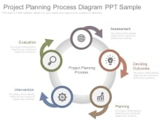 Project Planning Process Diagram Ppt Sample