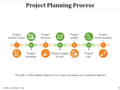 Project Planning Process Ppt PowerPoint Presentation Ideas Deck