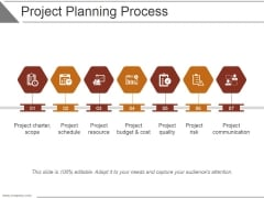 Project Planning Process Ppt PowerPoint Presentation Influencers