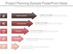 Project Planning Sample Powerpoint Ideas