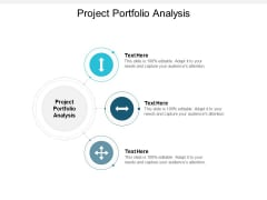 project portfolio analysis ppt powerpoint presentation infographic template rules cpb