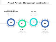Project Portfolio Management Best Practices Ppt PowerPoint Presentation Inspiration Images Cpb Pdf