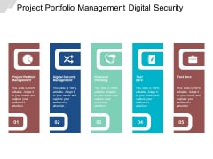 Project Portfolio Management Digital Security Management Financial Planning Ppt PowerPoint Presentation Inspiration Icons