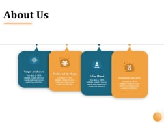 Project Portfolio Management PPM About Us Ppt Infographics Portfolio PDF