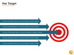 Project Portfolio Management PPM Our Target Ppt Portfolio Images PDF