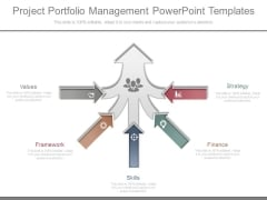 Project Portfolio Management Powerpoint Templates