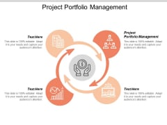 Project Portfolio Management Ppt PowerPoint Presentation Styles Icon Cpb