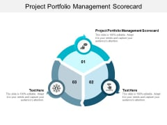 Project Portfolio Management Scorecard Ppt PowerPoint Presentation Inspiration Introduction Cpb