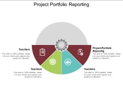 Project Portfolio Reporting Ppt PowerPoint Presentation Inspiration Master Slide Cpb