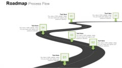 Project Price And Sales Quote Roadmap Process Flow Infographics PDF