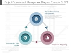 Project Procurement Management Diagram Example Of Ppt