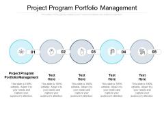 Project Program Portfolio Management Ppt PowerPoint Presentation Summary Background Cpb Pdf