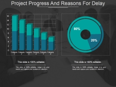 Project Progress And Reasons For Delay Ppt PowerPoint Presentation Pictures Influencers