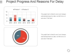Project Progress And Reasons For Delay Ppt PowerPoint Presentation Portfolio Portrait