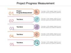 Project Progress Measurement Ppt PowerPoint Presentation Layouts Master Slide Cpb
