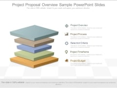 Project Proposal Overview Sample Powerpoint Slides