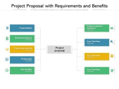 Project Proposal With Requirements And Benefits Ppt PowerPoint Presentation File Professional PDF