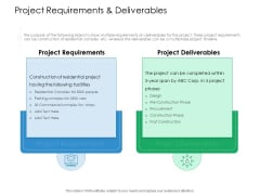 Project Requirements And Deliverables Action Priority Matrix Ppt Professional Display PDF