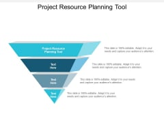 project resource planning tool ppt powerpoint presentation outline format cpb