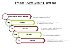 Project Review Meeting Template Ppt PowerPoint Presentation Summary Images Cpb Pdf