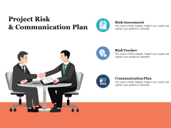 Project Risk And Communication Plan Ppt PowerPoint Presentation Model Layouts