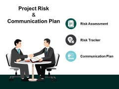 Project Risk And Communication Plan Ppt PowerPoint Presentation Portfolio Shapes