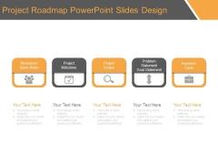 Project Roadmap Powerpoint Slides Design
