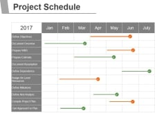 Project Schedule Ppt PowerPoint Presentation Slide