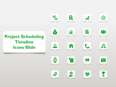 Project Scheduling Timeline Icons Slide Ppt Styles Templates PDF