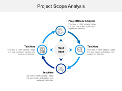 Project Scope Analysis Ppt PowerPoint Presentation Outline Ideas Cpb