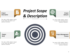 Project Scope And Description Ppt PowerPoint Presentation Outline Gallery