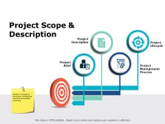 Project Scope And Description Ppt PowerPoint Presentation Slides File Formats