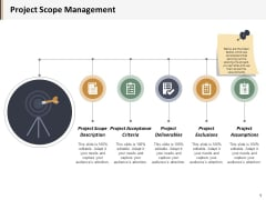Project Scope Management Ppt PowerPoint Presentation Outline Show