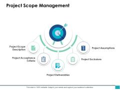 Project Scope Management Ppt PowerPoint Presentation Pictures Smartart