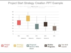 Project Start Strategy Creation Ppt Example
