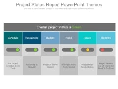 Project Status Report Powerpoint Themes