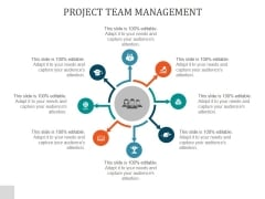 Project Team Management Ppt PowerPoint Presentation Design Ideas