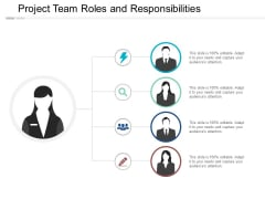 Project Team Roles And Responsibilities Ppt PowerPoint Presentation Styles Infographic Template