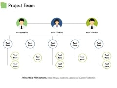 Project Team Template 1 Ppt PowerPoint Presentation Summary Samples