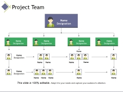 Project Team Template 2 Ppt PowerPoint Presentation Layouts Graphics Design