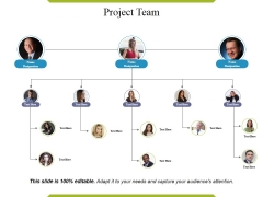 Project Team Template Ppt PowerPoint Presentation Model Good