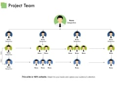 Project Team Template Ppt PowerPoint Presentation Outline Graphic Images