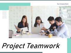 Project Teamwork Employees Brainstorming Team Leader Ppt PowerPoint Presentation Complete Deck