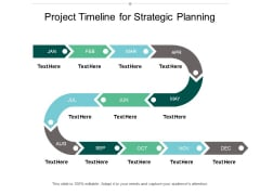 Project Timeline For Strategic Planning Ppt Powerpoint Presentation Infographic Template Professional