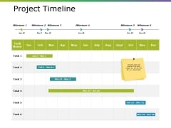 Project Timeline Ppt PowerPoint Presentation Icon Designs