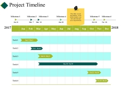 Project Timeline Ppt PowerPoint Presentation Icon Graphics Design