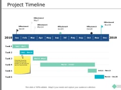 Project Timeline Ppt PowerPoint Presentation Inspiration Graphics