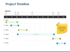 Project Timeline Ppt PowerPoint Presentation Portfolio Portrait